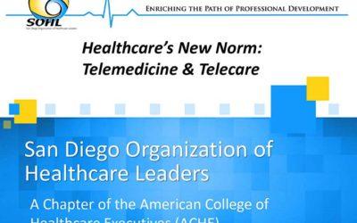 Healthcare's New Norm: Telemedicine & Telecare